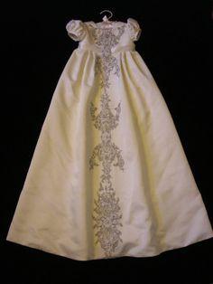 Kathleens's Custom Christening or Baptism Gown by BertasBoutique