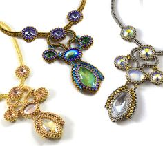 Bead&Button Show: Bead&Button Show Workshops & Classes: Saturday May 30, 2015: B151698 Camp Turunen: Tigress Necklace
