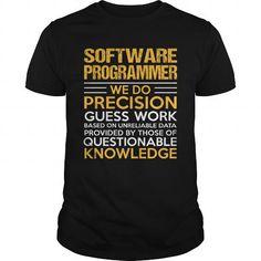 SOFTWARE PROGRAMMER T Shirts, Hoodies. Get it here ==► https://www.sunfrog.com/LifeStyle/SOFTWARE-PROGRAMMER-122528767-Black-Guys.html?41382