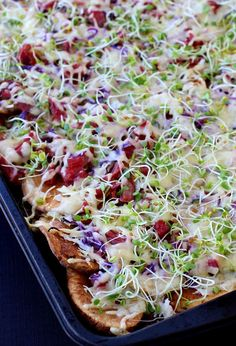 Corned Beef Irish Nachos are the perfect appetizer or dinner for St. Patrick's Day!