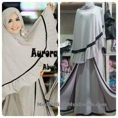 Model Baju Gamis Muslimah Aurora