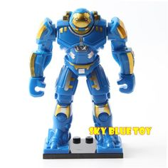 Kaygoo Single Sale Kids Large Block Toys Marvel Avengers Thanos Hulk Venom Ironman Building Blocks Toys