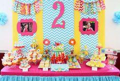 GIRLY Elmo themed Sesame Street Party with tons of ideas! Via Kara's Party Ideas
