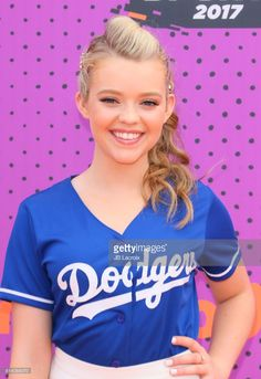 Jade Pettyjohn attends the 2017 Nickelodeon Kids' Choice Sports Awards at Pauley Pavilion on July 13, 2017 in Los Angeles, California.
