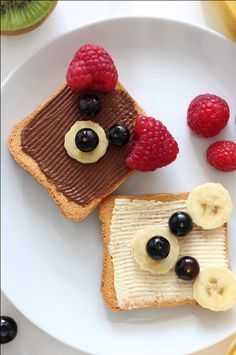 healthy snacks for toddlers / healthy snacks ; healthy snacks for kids ; healthy snacks on the go ; healthy snacks for work ; healthy snacks to buy ; healthy snacks for toddlers Cute Food, Good Food, Yummy Food, Cute Snacks, Snacks Ideas, Food Art For Kids, Fun Food For Kids, Easy Food Art, Kids Food Crafts