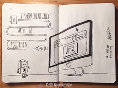 I know eventually we'll be together @mariahcarey #onesweetday  Check out #bsnotebook project. Geek humour for NES gamers mixtape Djs igers beta video lovers and for those who still have faith in the minidisc! A new drawing every Wednesday!  #drawings #sketch #sketches #illustration #creativity #inspiration #geek #humour #geekhumor #technostalgia #vintage #music #instasketch #instadrawing #imac #ipod #music #usb #itunes #mp3 #transfer