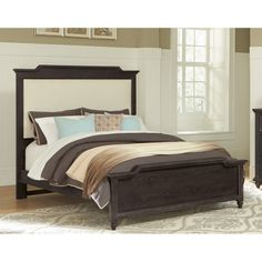 ... Hickory Park Furniture Galleries. See More. Vaughan Bassett 370 50 3  Nantucket Upholstered Bed With Low Profile Footboard King Available
