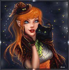 """lovelyfadingexpert: """"  witch elf """""""