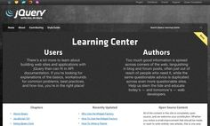 http://learn.jquery.com Learn jQuery. Still in Beta.