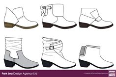 Ladies Leather Ankle Boot Designs