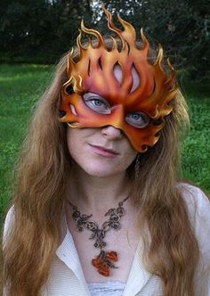 Flames by Mythica Masks