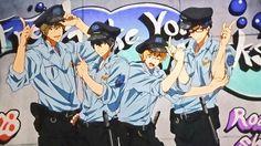 Police!Iwatobi