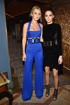 The best looks from the front rows at Milan Fashion Week: Gigi Hadid and Kendall Jenner