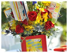 Red, Yellow, & Blue Storybook Baby Shower