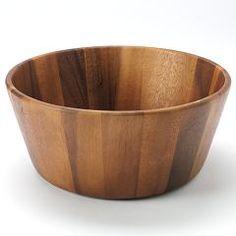 Bobby Flay™ Acacia Salad Serving Bowl
