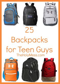 25 Backpacks for Tee