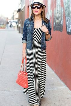 With maxis, pay extra attention to silhouette. | 17 Super Useful Styling Tips For Women Under 5'4