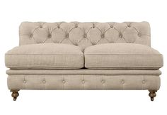 Shop online Henry Upholstered 2 Seater Armless Sofa to ensure you get very comfortable seating option which also displays elegant style. The modern 2 seater sofa online is meant to achieve inviting interiors. Buy two seater sofa online Sofa Set Online, 2 Seater Sofa, Chandigarh, Kolkata, Mumbai, Sofas, Love Seat, Couch, Interiors