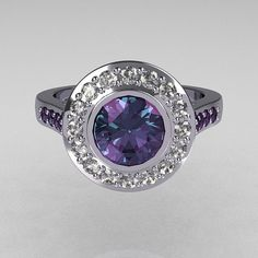 Tiffany Brilliant Style 10K White Gold 10 Carat by artmasters, $949.00