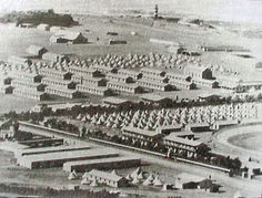 Second Boer War - ABW- A Transit camp for Prisoners of War in Green Point - Cape Town during the war. Prisoners were then transferred for internment in other parts of the British Empire. World History Facts, All About Africa, Prisoners Of War, British Colonial, Historical Pictures, African History, Cape Town, South Africa, Empire