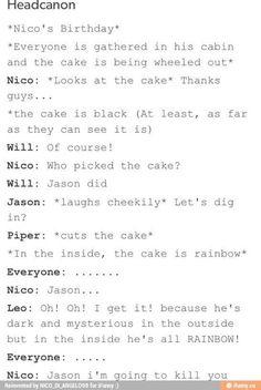 LOL Percy Jackson Headcanon :p