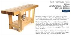 BenchCrafted.com - Split Top Roubo