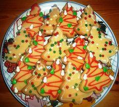"Christie's PicNic: Χριστουγεννιάτικα Μπισκότα Βουτύρου ""της Μαριάννας"" Biscuits, Picnic, Pudding, Cooking, Desserts, Blog, Recipes, Corsage, Crack Crackers"