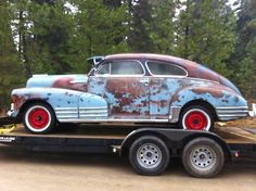 This 1947 Chevy Fleetline has a TON of potential! #ClassicNation