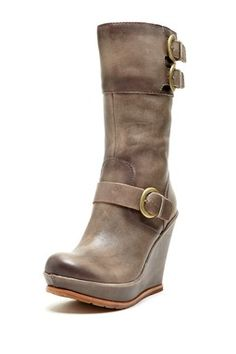 If it has your name in it shouldn't you get them for free? Kork-Ease Brooke Buckle Wedge Boot