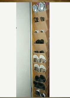 organizing the home! 30 Great Shoe Storage Ideas To Keep Your Footwear Safe And Sound! Diy Shoe Storage, Diy Shoe Rack, Diy Storage Boxes, Storage Ideas, Shoe Racks, Desk Storage, Smart Storage, Storage Solutions, Shoe Drawer