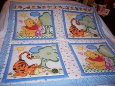 Pooh, Tigger, Piglet Baby Quilt