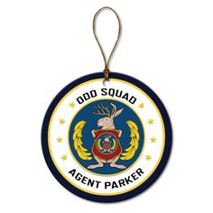 The Official PBS KIDS Shop | Odd Squad Agent Seal Round Ornament