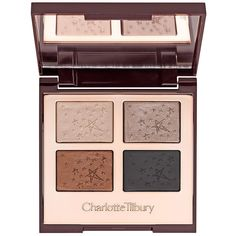 Charlotte Tilbury Limited Edition Fallen Angel Eye Palette (105 BAM) ❤ liked on Polyvore featuring beauty products, makeup, eye makeup, eyeshadow and palette eyeshadow