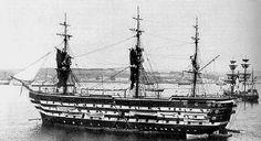 French Battleship Napoleon (1850)