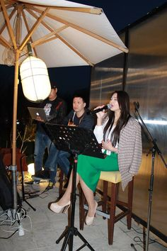 Live performance with Zhuldyz - discovering golden voice of Atyrau