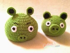 gorro bebé verde, amigurumi verde, tejida por artesesa