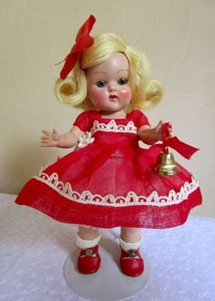 1953 STRUNG VOGUE GINNY - KAY #23 - GORGEOUS #Vogue #Dolls