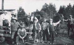 Teglværksarbejdere i det svundne Gadevang