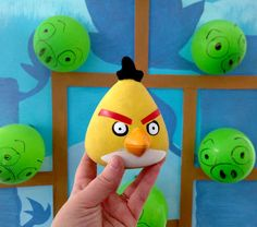 Homemade Angry Bird Carnival Game
