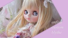 ∮anfisa∮Custom Blythe ● rose rabbit ●  Buy her here:   #blythe #blythedolls #kawaii #cute #rinkya #japan #collectibles #neoblythe #customblythe