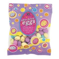 speckled eggs from woolworths - the best mini eggs EVER. Speckled Eggs, Mini Eggs, Jelly, Lunch Box, African, Candy, Chocolate, South Africa, Marmalade