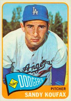 Sandy Koufax. Topps Chewing Gum Company, 1965.