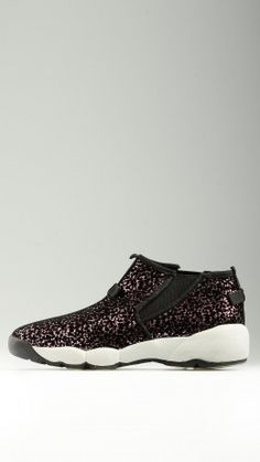 Sequined detail high top sneakers
