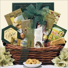 Refined Elegance: Gourmet Upscale Gift Basket - http://mygourmetgifts.com/refined-elegance-gourmet-upscale-gift-basket/