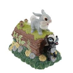 *THUMPER & FLOWER from Bambi ~ Cookie Jar
