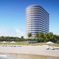 Renzo Piano unveils plans for glass tower on Miami Beach