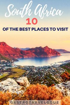 The Ultimate Guide To South Africa : 10 Regions – Gastrotravelogue Travel Advice, Travel Guides, Travel Tips, Travel Goals, Budget Travel, Chobe National Park, Africa Destinations, Travel Destinations, Big Country