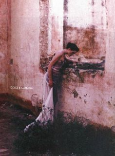 Remembering talented fashion photographer Deborah Turbeville. Art of Fashion, 1998. Photographed by Deborah Turbeville.