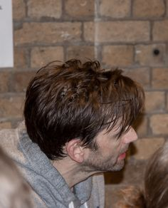 David Tennant at the stage door after Don Juan in Soho on 28th April 2017