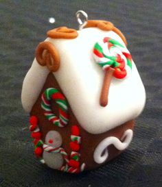 Gingerbread fimo house
